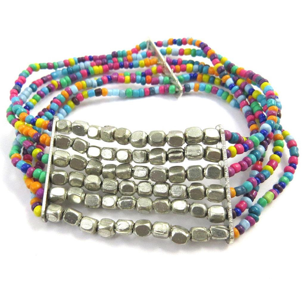 Bracelet Créateur \'Calcutta\' tutti frutti - [M8028]
