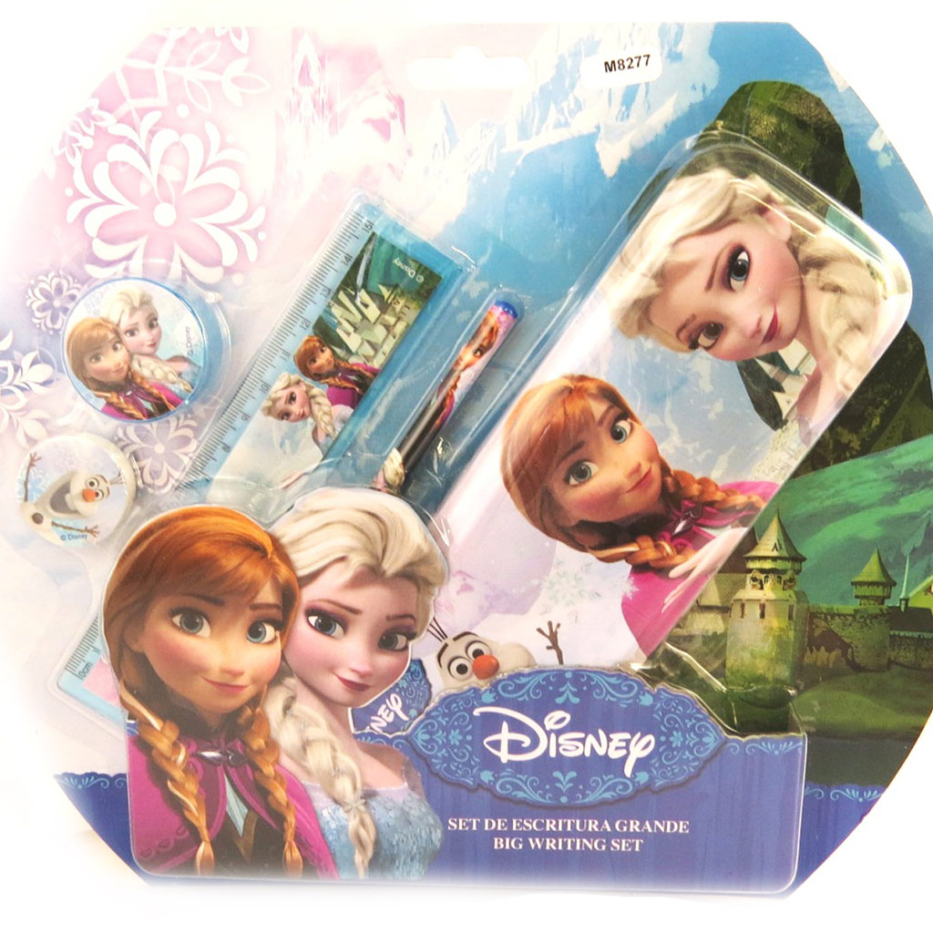 Set papeterie \'Frozen - Reine des Neiges\' (5 pièces) - [M8277]