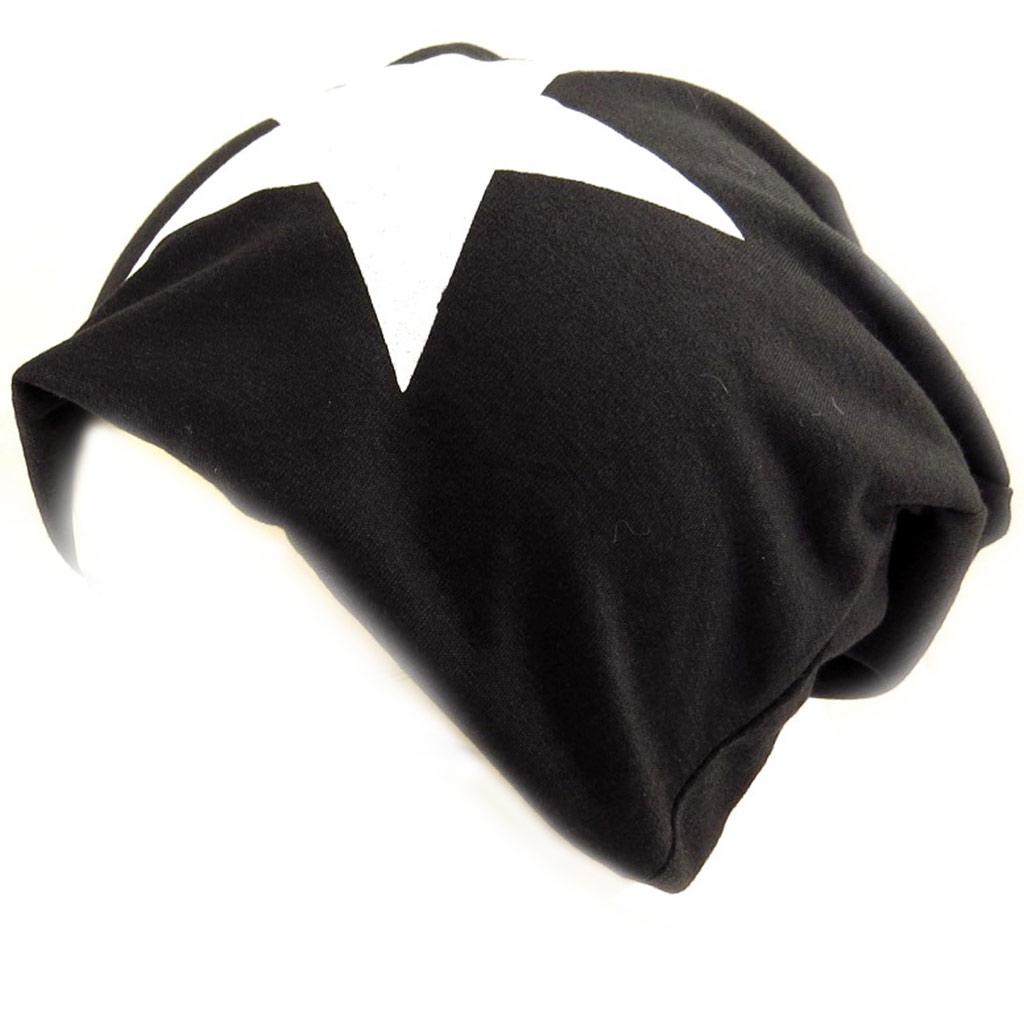 Bonnet \'Etoile\' noir  - [K8546]