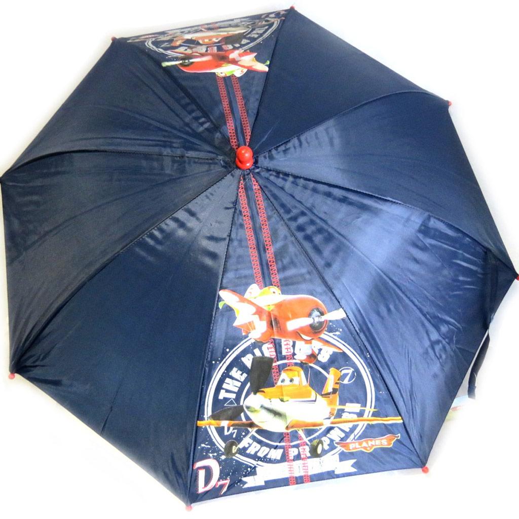 Parapluie Enfant \'Planes\' bleu orange - [K8665]