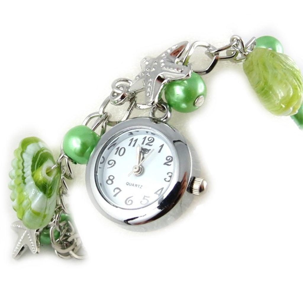 Montre bracelet \'Scarlett\' vert - [K8919]