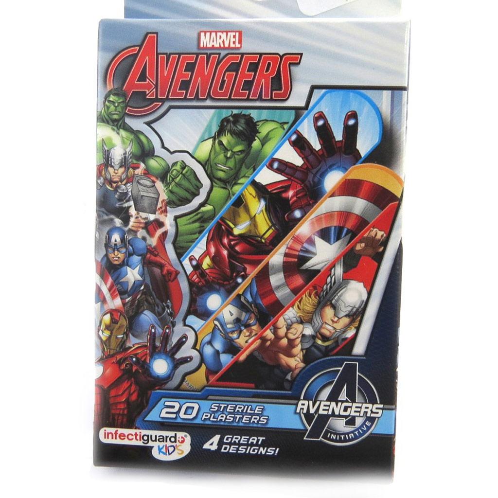 Boite 20 pansements \'Avengers\'  - [M9077]