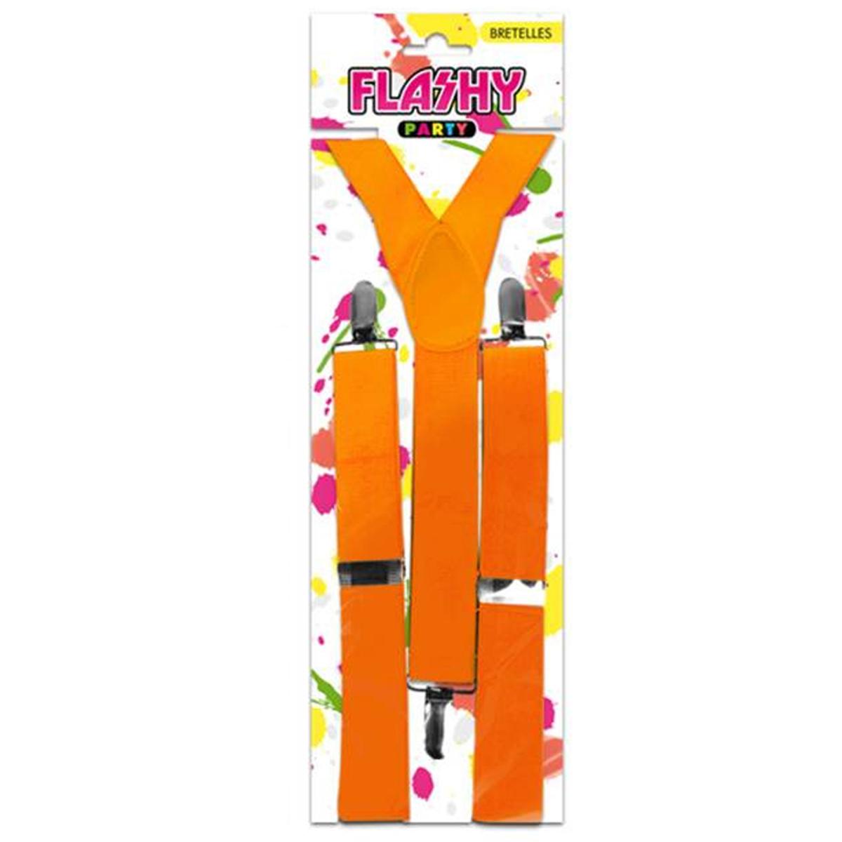 Bretelles \'Coloriage\' orange - [M9618]