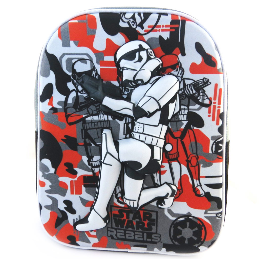 Sac à Dos 3D \'Star Wars\' Stormtrooper (31x25x10 cm) - [M9770]