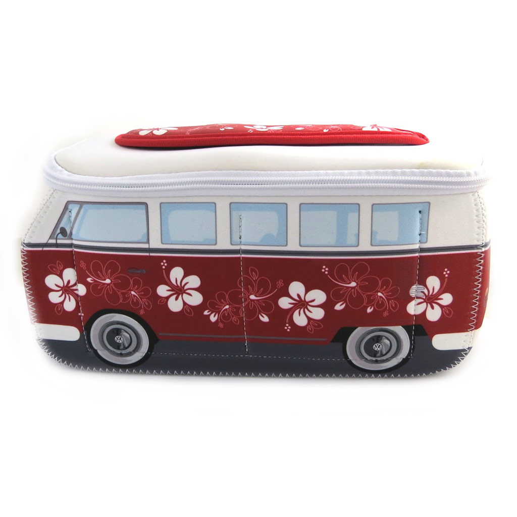 Trousse de toilette \'Volkswagen\' rouge blanc - 29x13x115 cm - [M9877]