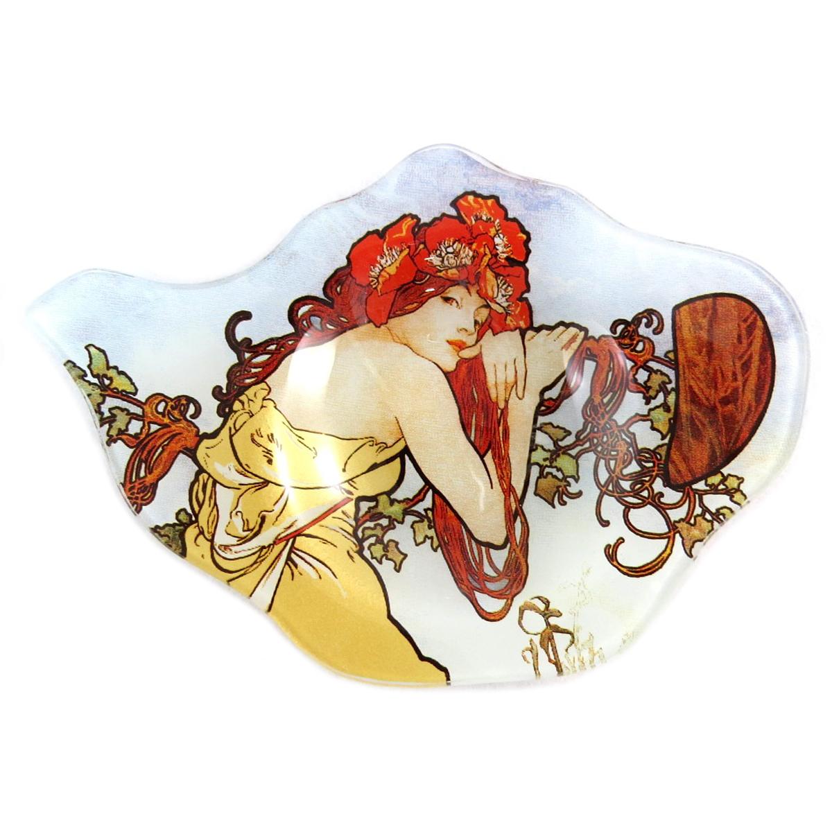 Repose sachets \'Alfons Mucha\' ambre - 14x95 cm - [Q0198]