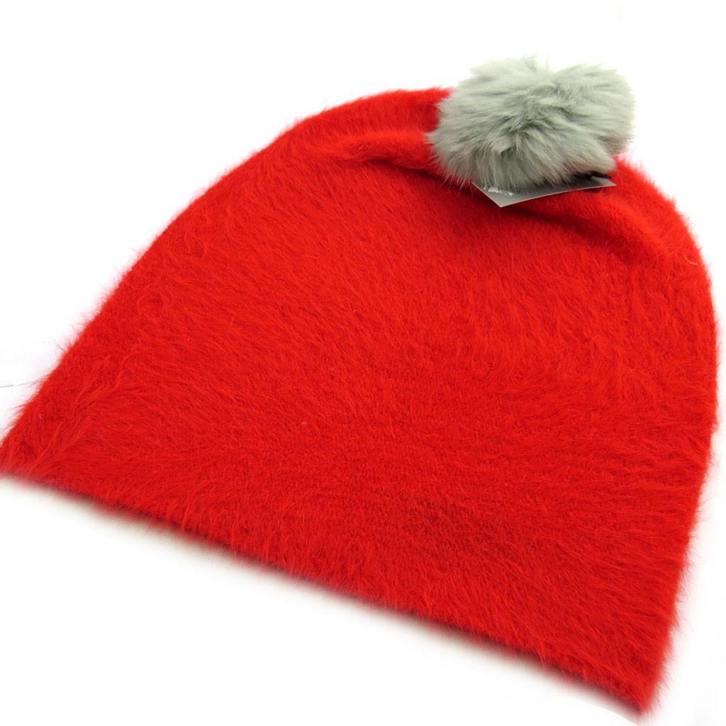 Bonnet créateur \'Coloriage\' rouge coquelicot - [N0389]