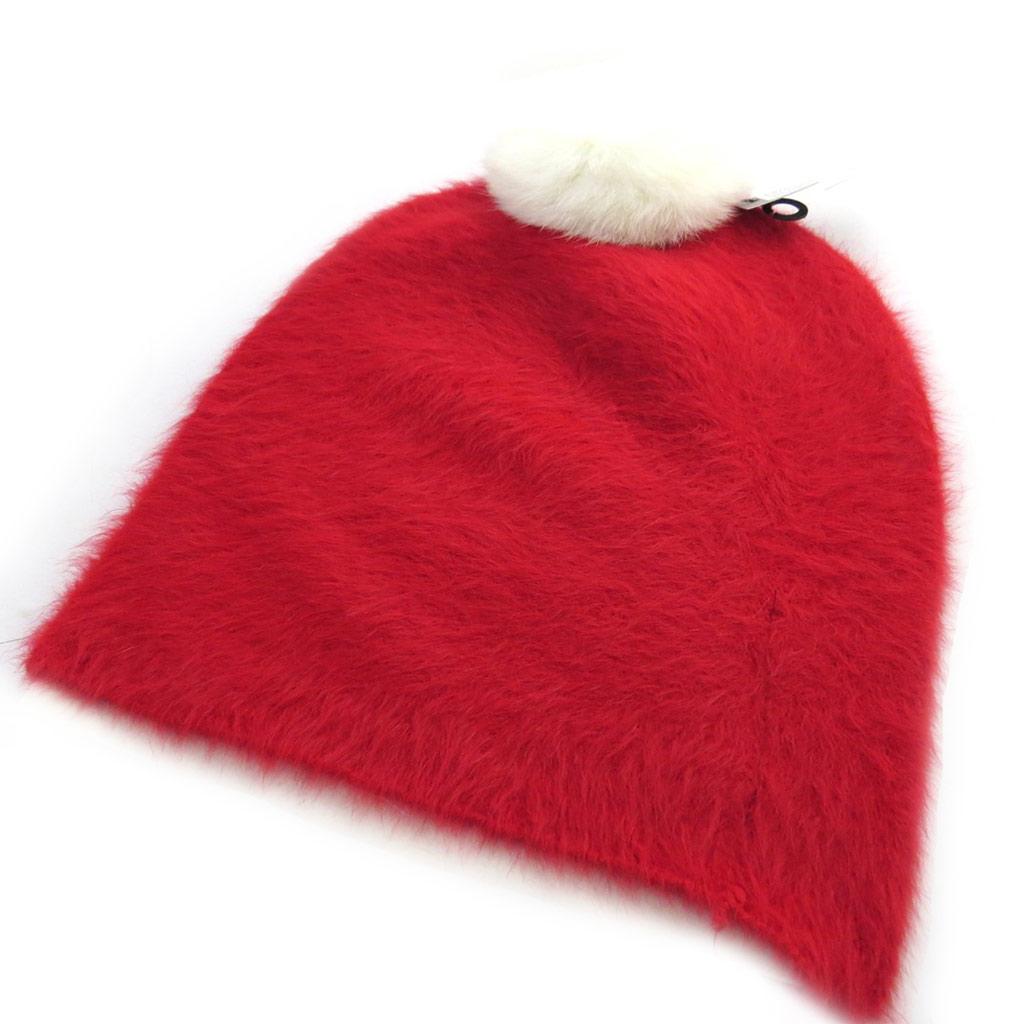 Bonnet créateur \'Coloriage\' rouge cerise - [N0390]
