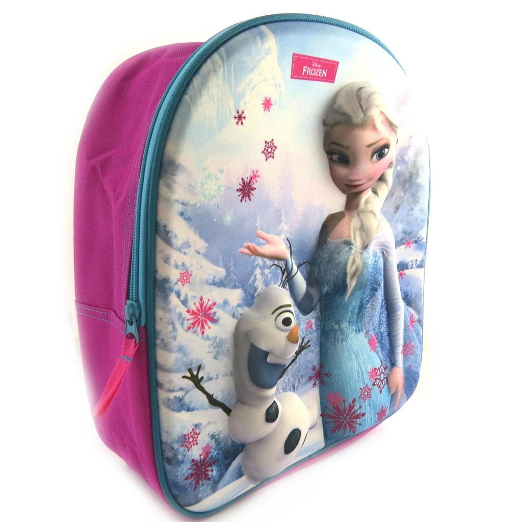 Sac à Dos 3D \'Frozen - Reine des Neiges\' (31x25x12 cm) - [N0434]