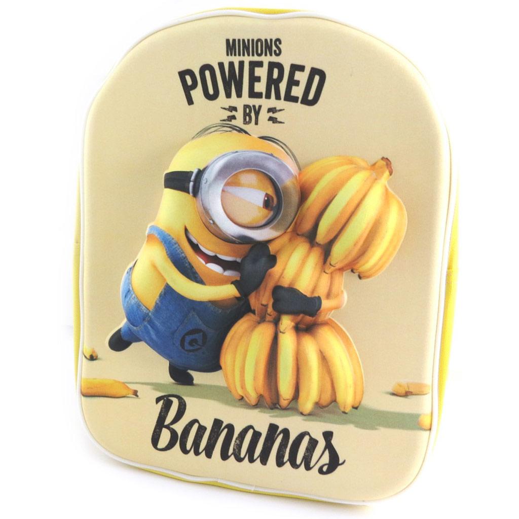 Sac à Dos 3D \'Minions\' Bananas (31x25x10 cm) - [N0444]