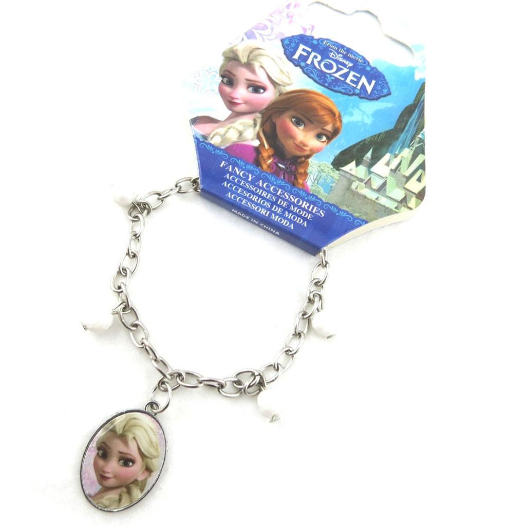 Bracelet créateur \'Frozen - Reine des Neiges\' blanc - [N0457]