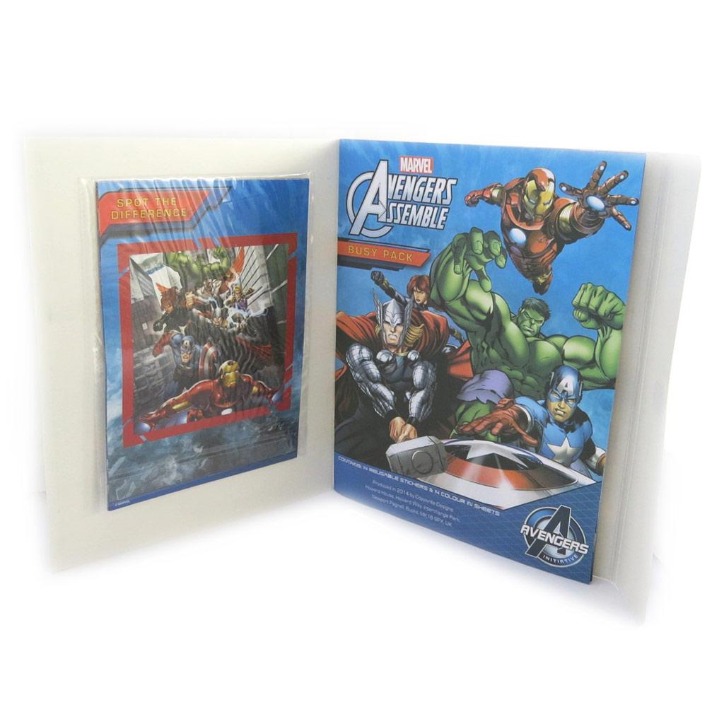 Set d\'activité \'Avengers\' (277x225 cm) - [N0476]