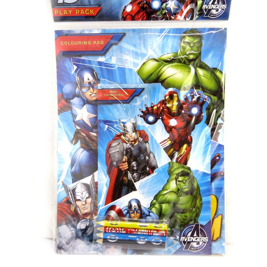 Set d\'activité \'Avengers\' (34x21 cm) - [N0477]