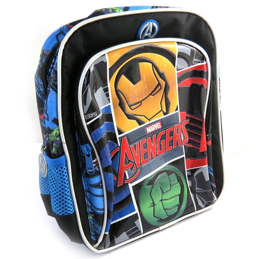 Sac à dos \'Avengers\' noir multicolore (28x23x10 cm) - [N0516]