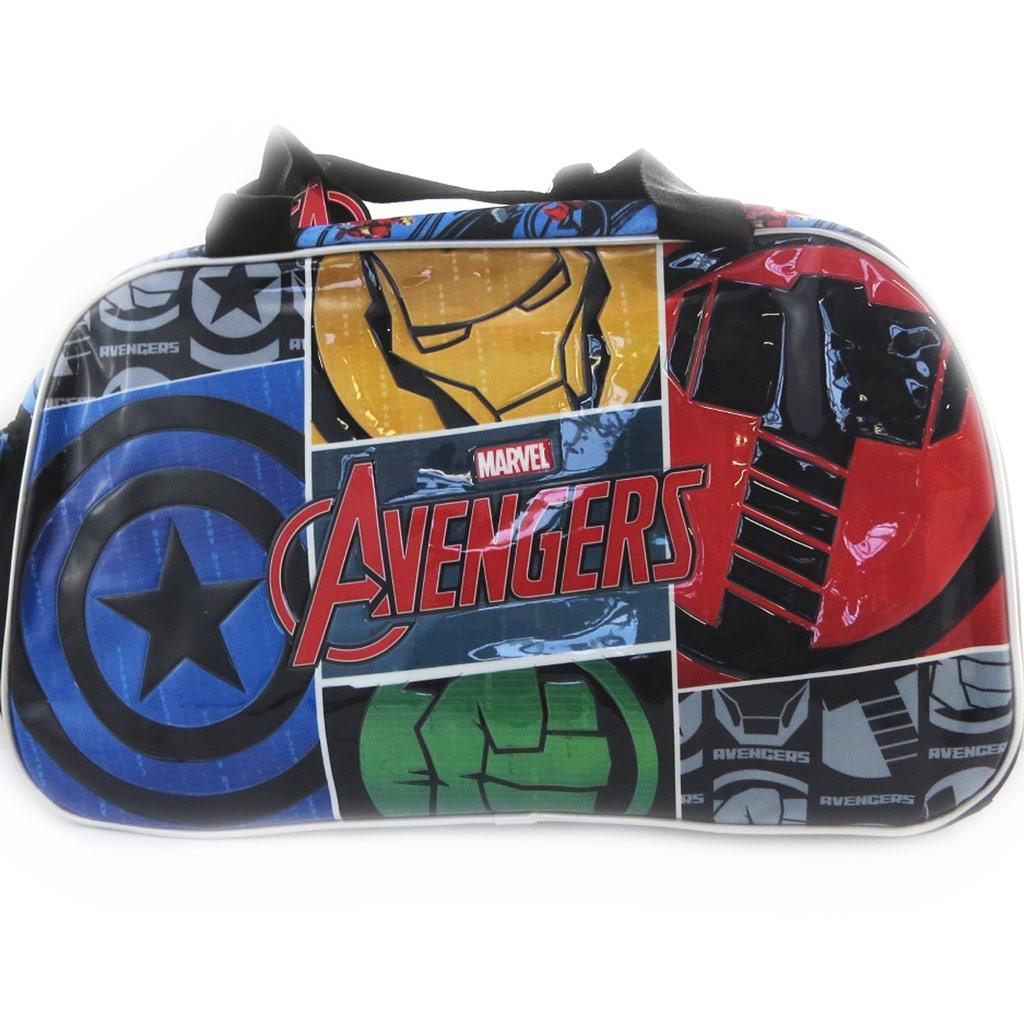 Sac de voyage \'Avengers\' noir multicolore (45 cm) - [N0556]