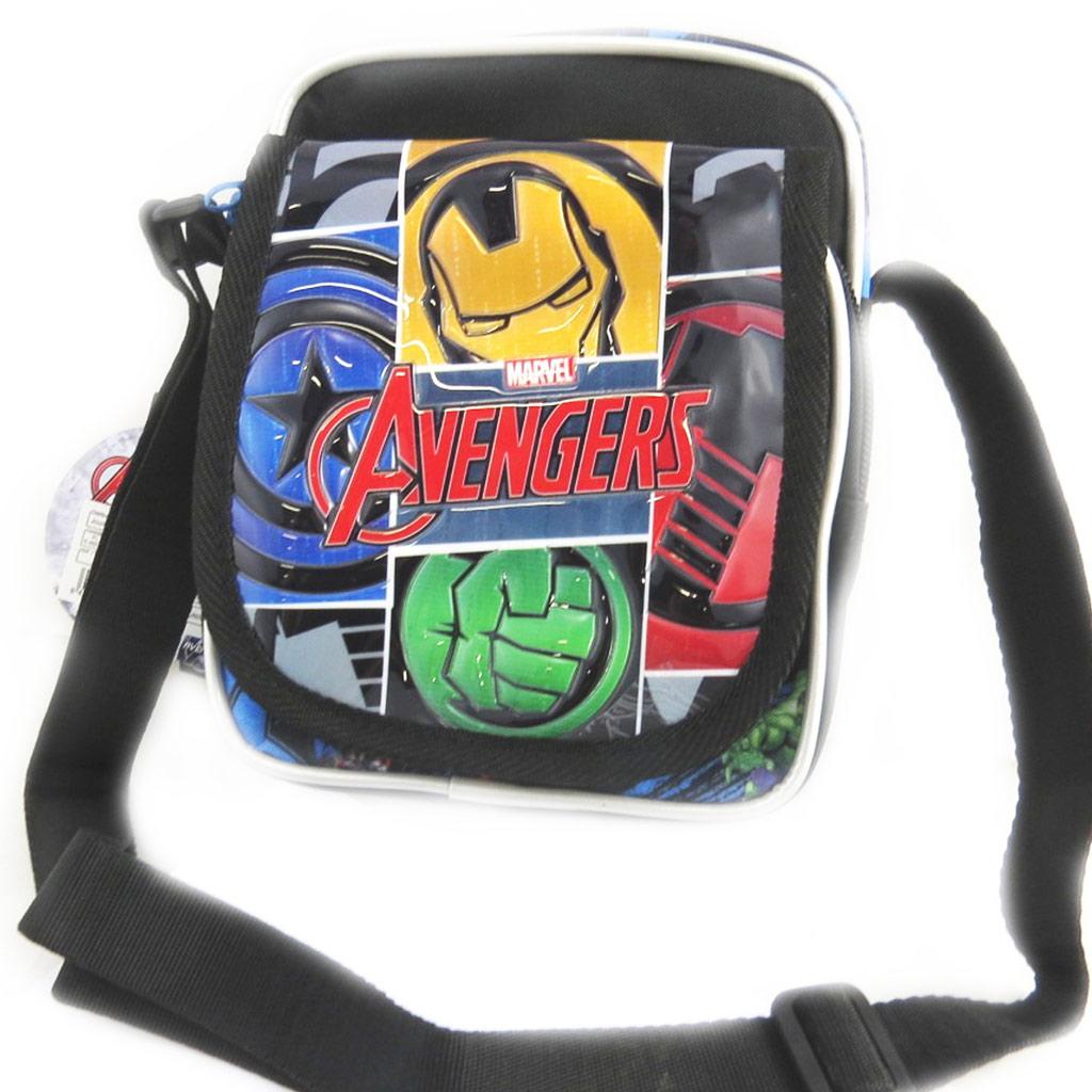 Sac créateur \'Avengers\' noir multicolore (19x15x10 cm) - [N0557]