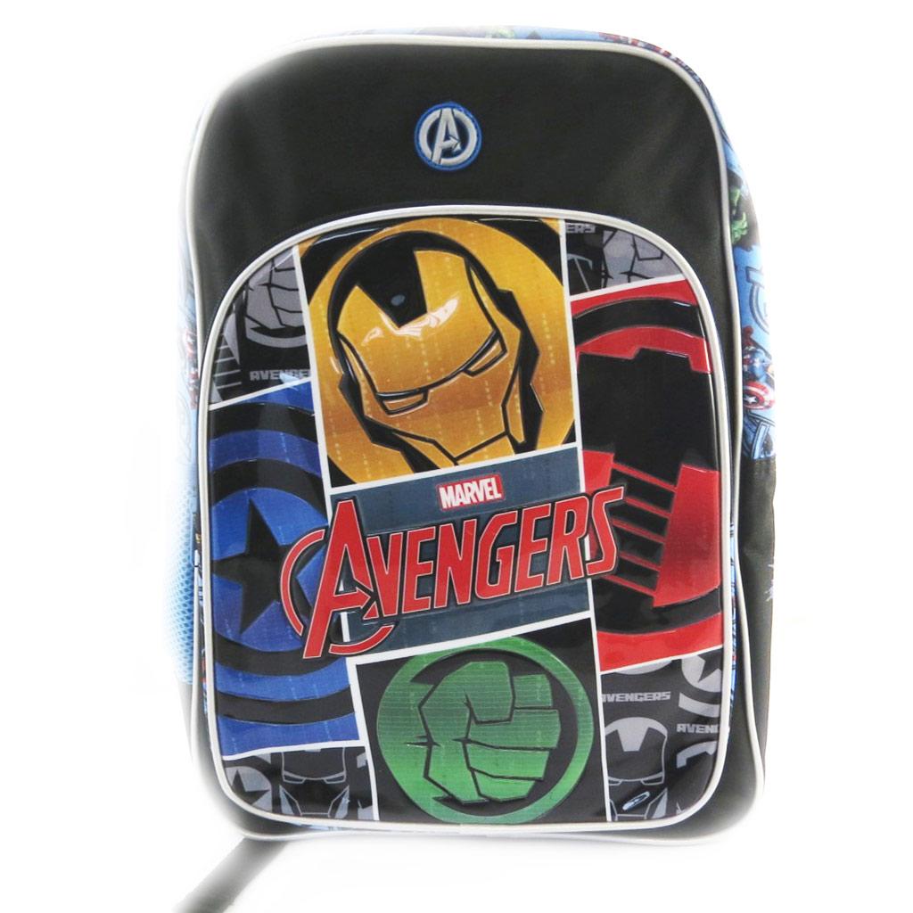 Sac à dos \'Avengers\' noir multicolore (40x30x16 cm) - [N0560]