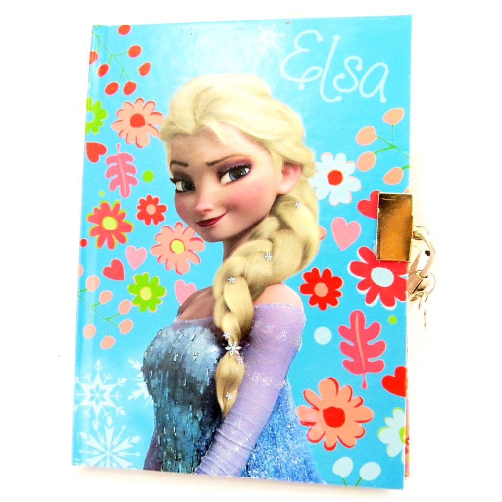 Journal Intime \'Frozen - Reine des Neiges\' turquoise rose  - [N0823]