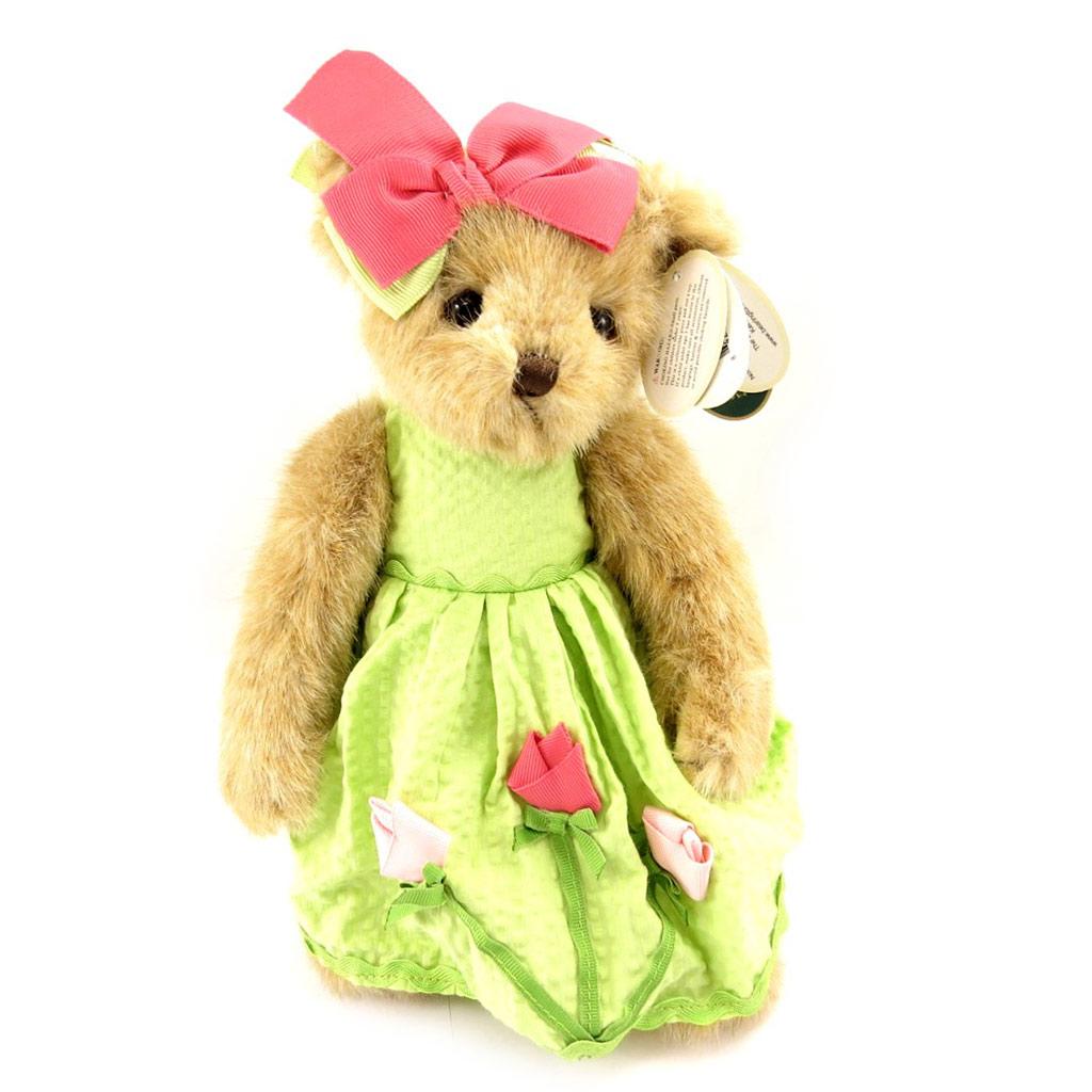 Peluche \'Teddy Bear\' vert - [L0816]