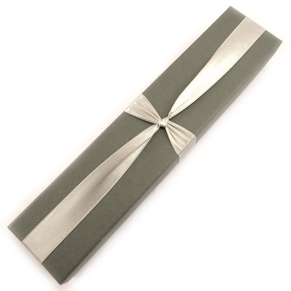 Ecrin Bracelet \'Glamour\' gris - [L1083]