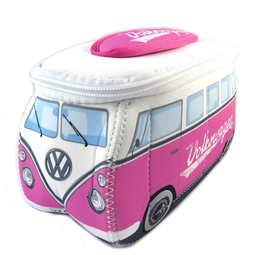 Trousse de toilette \'Volkswagen\' rose blanc - 23x13x75 cm - [P0981]