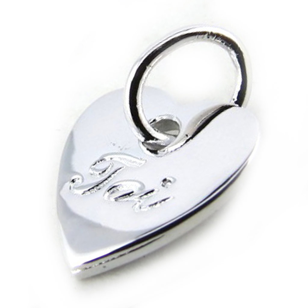 Pendentif Argent \'Love\' (toi) - [N1385]