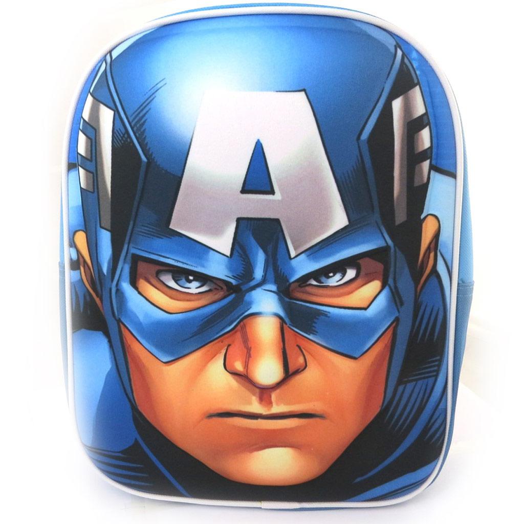 Sac à Dos 3D \'Avengers\' Captain America (31x25x10 cm) - [N1390]