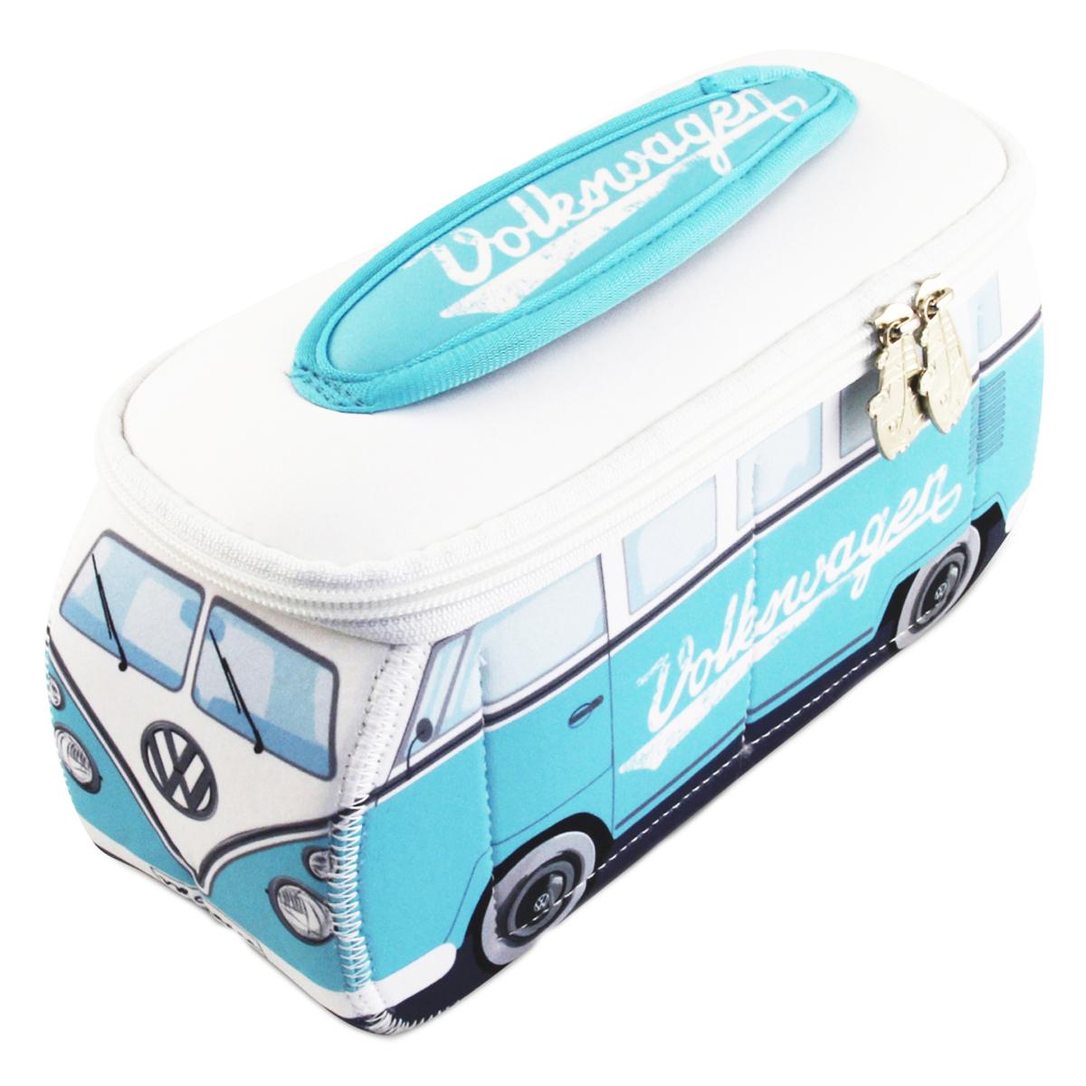Trousse de toilette \'Volkswagen\' bleu blanc - 29x14x105 cm - [P1138]