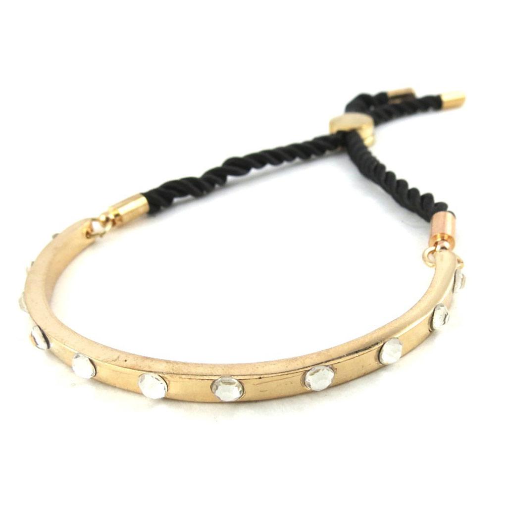 Bracelet \'Cléopatra\' blanc doré rosé - [N1573]