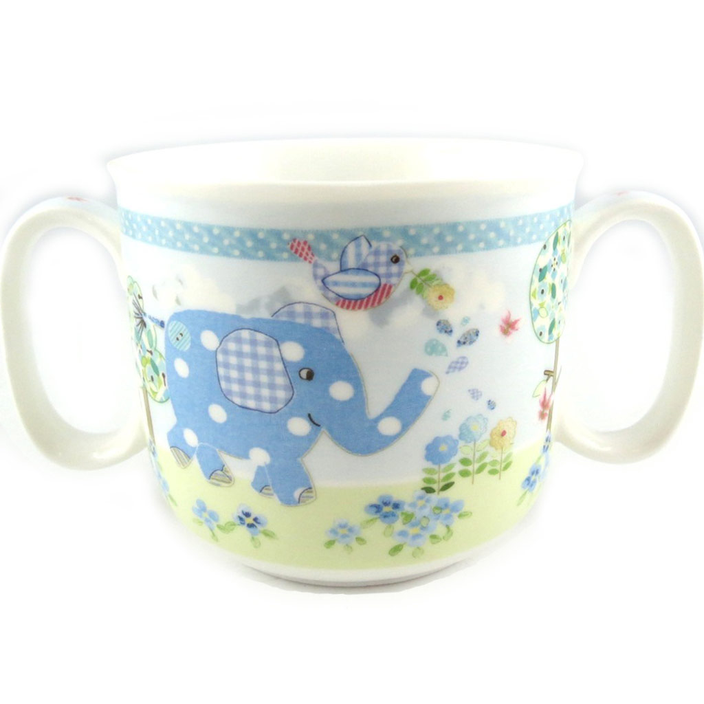 1er Mug \'Eléphant\' bleu - [L1955]