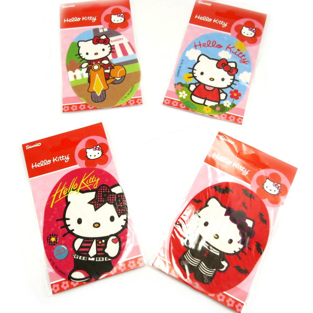 Set de 4 patchs thermocollants \'Hello Kitty\'  - [L2065]