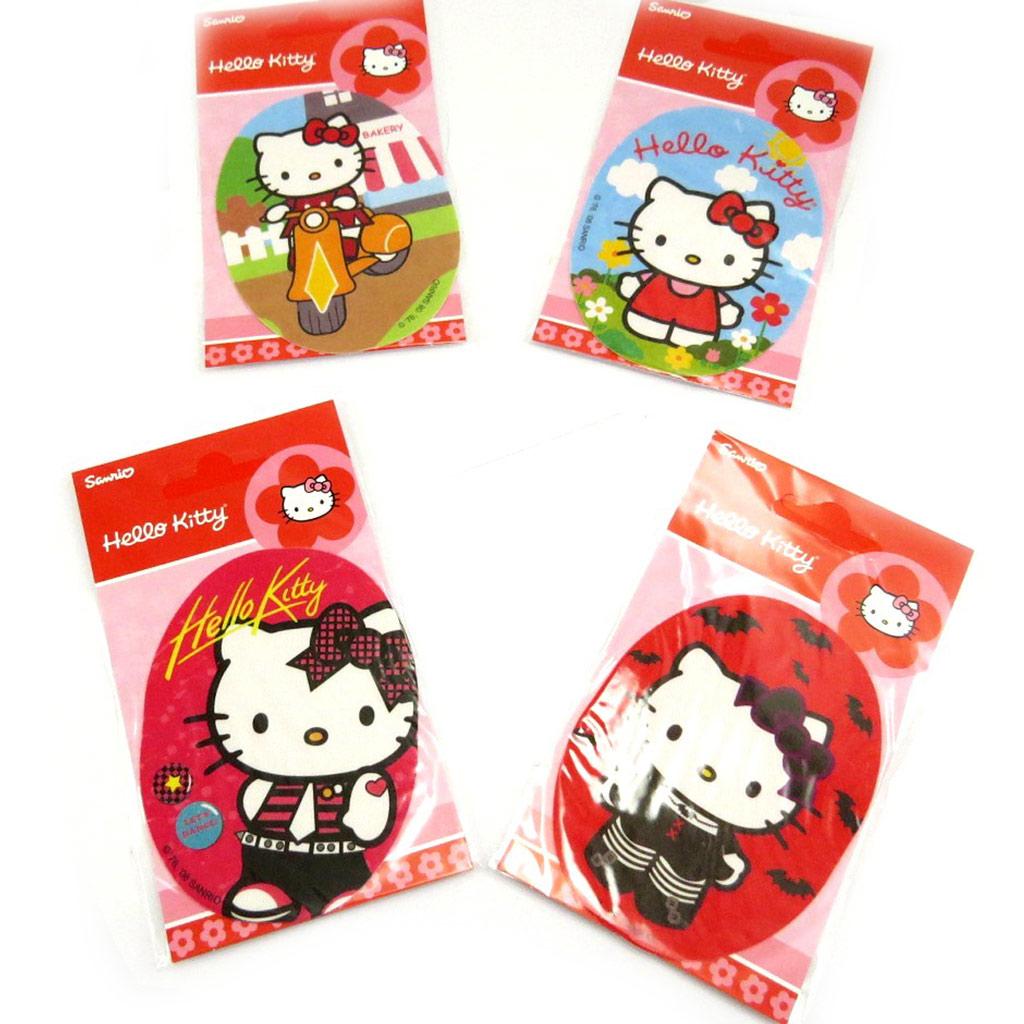 Set de 4 patchs thermocollants \'Hello Kitty\'  - [L2065]