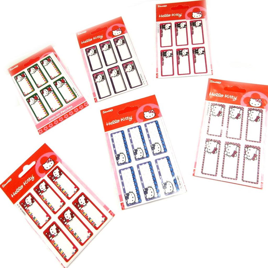 Set de 36 étiquettes thermocollants \'Hello Kitty\'  - [L2066]