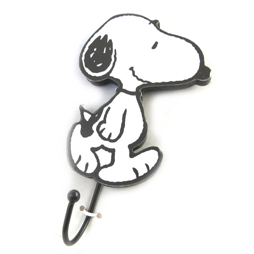 Patère \'Snoopy\' blanc noir - [N2088]