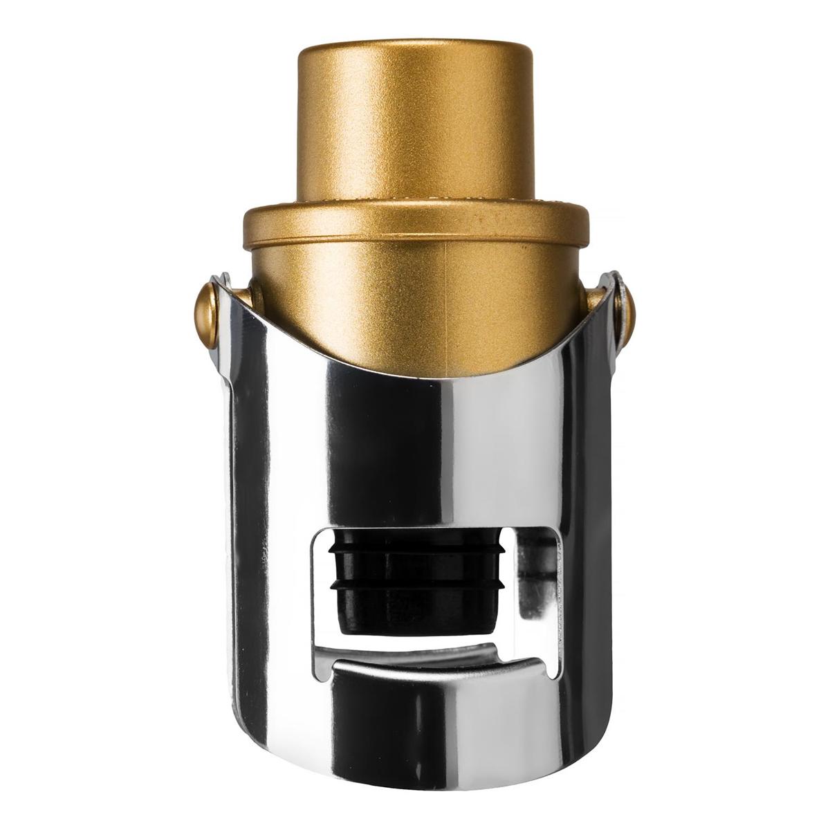 Bouchon à champagne \'Dégustation\' doré chrome - [Q1715]