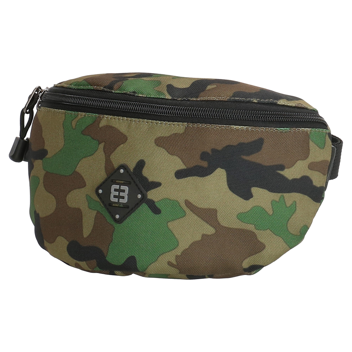 Pochette ceinture / banane \'Enrico Benetti\' vert camouflage - 23x15x4 cm - [Q1739]