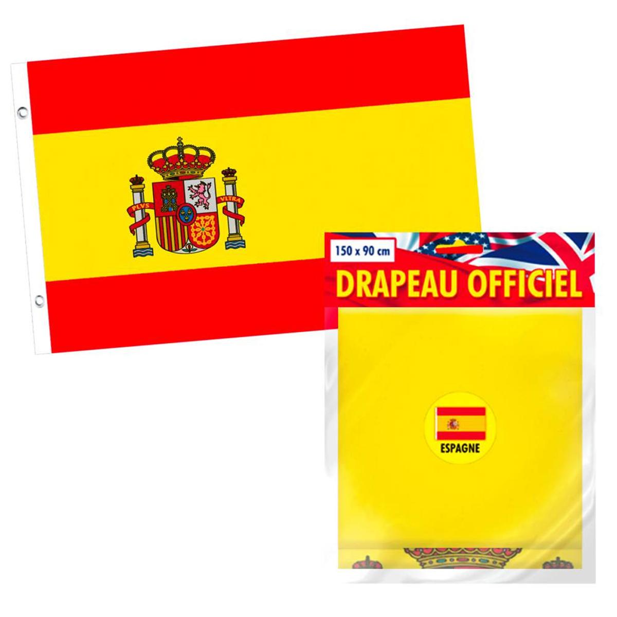 Drapeau \'Espagne\' rouge jaune - 90x150 cm - [L2250]