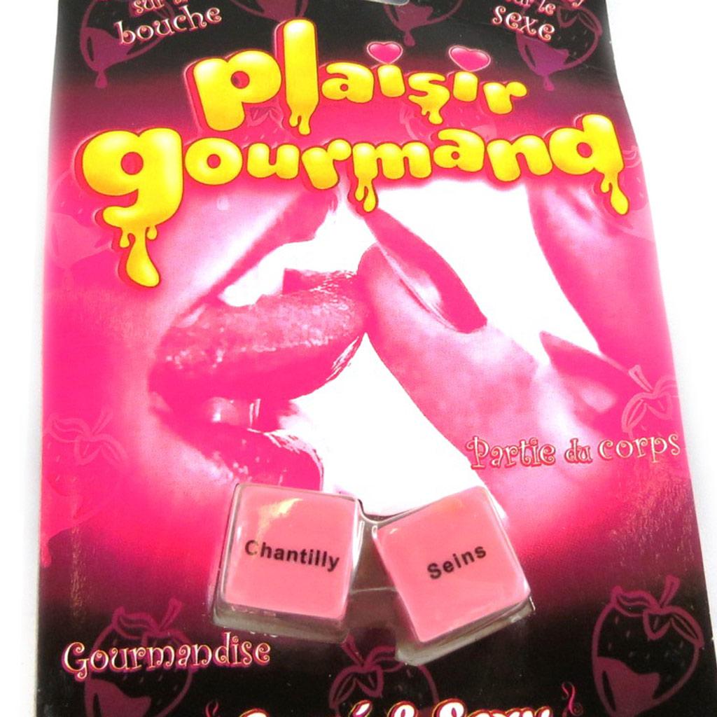 \'Les Dés du Plaisir\' gourmandise - [L2298]