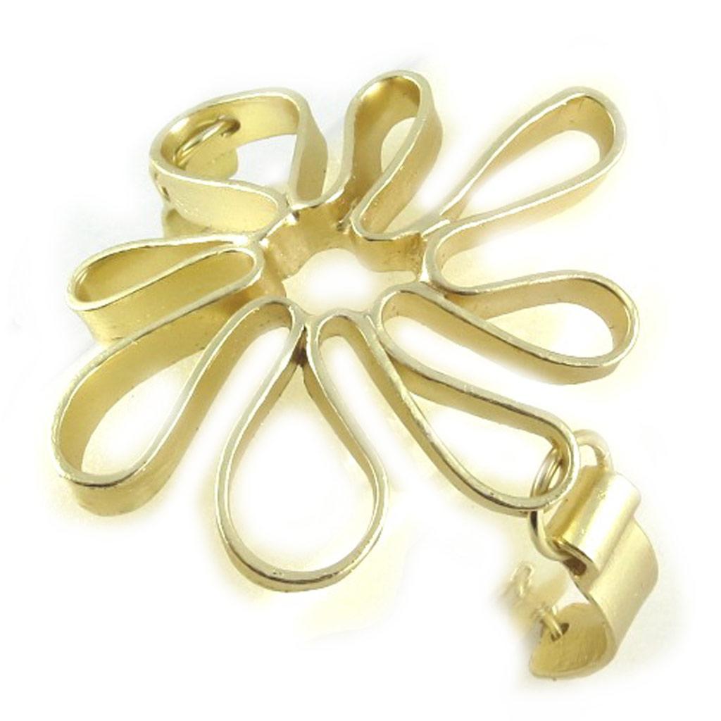 Bracelet Créateur \'Flora\' doré  - [L2437]