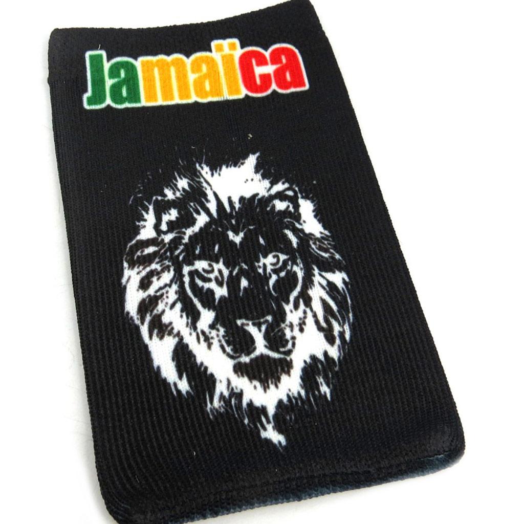 Chaussette Portable \'Jamaica\' lion - [L2458]