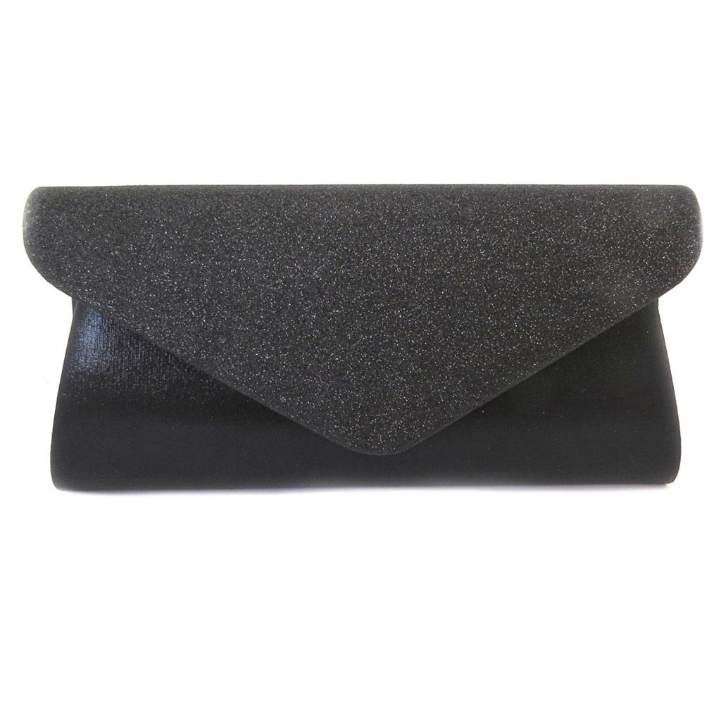 Pochette \'Kika\' noir - 25x125x6 cm - [P1852]