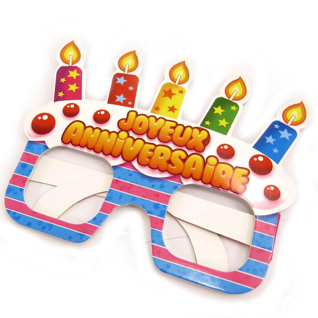 Lunettes humoristiques enfant \'Joyeux Anniversaire\'  - [L2523]