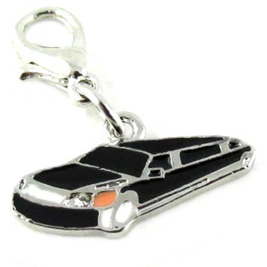 Maille \'Lily Pop\' noir (limousine) - [L2659]