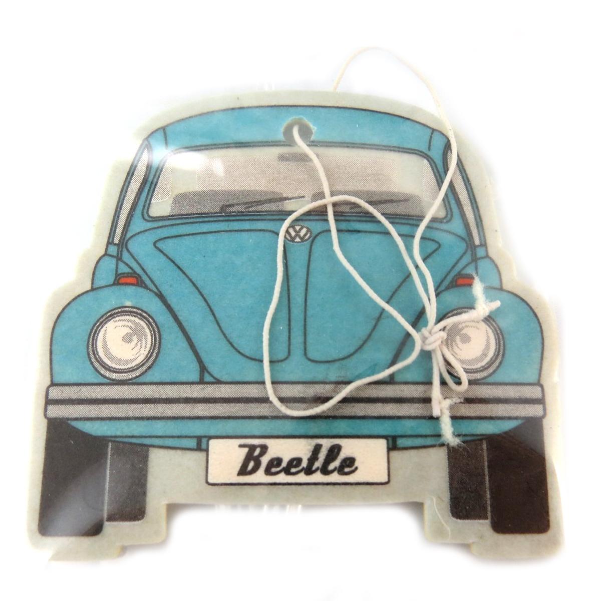 Désodorisant voiture \'Volkswagen\' bleu (fresh) - 65x55 mm - [Q1982]