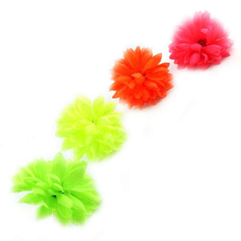 Set de 4 bagues \'Coloriage\' tutti frutti - [L3072]