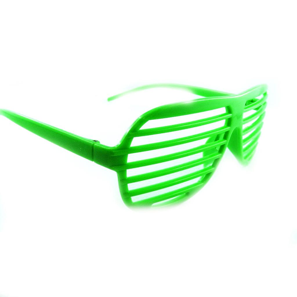 Lunettes humoristiques \'Coloriage\' vert - [L3126]