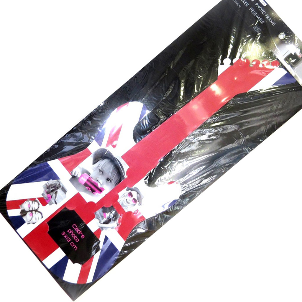 Sticker pêle-mêle \'So British\' union jack (guitare) - [L3133]
