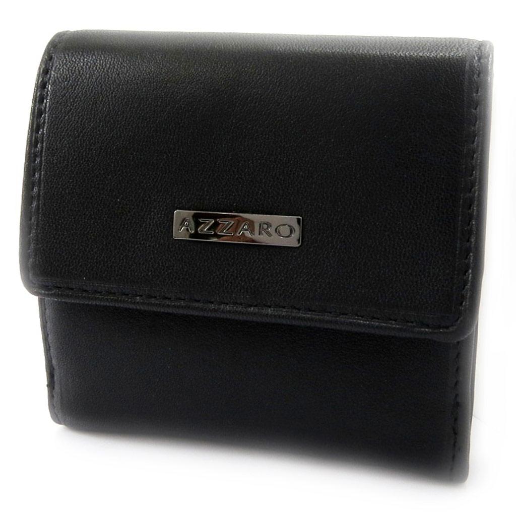 Porte-monnaie \'Azzaro\' noir  - [L4111]