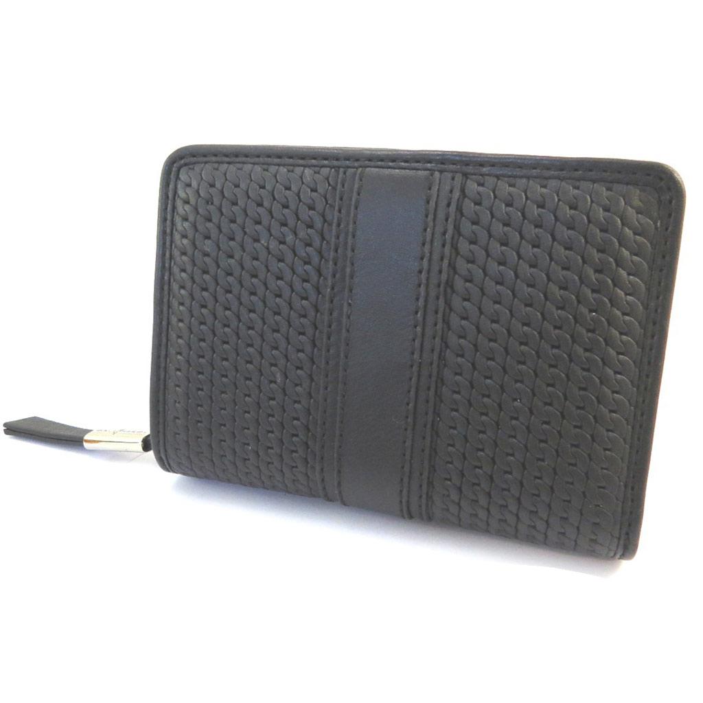 Portefeuille cuir \'Gianni Conti\' noir - 135x10x35 cm - [P3029]