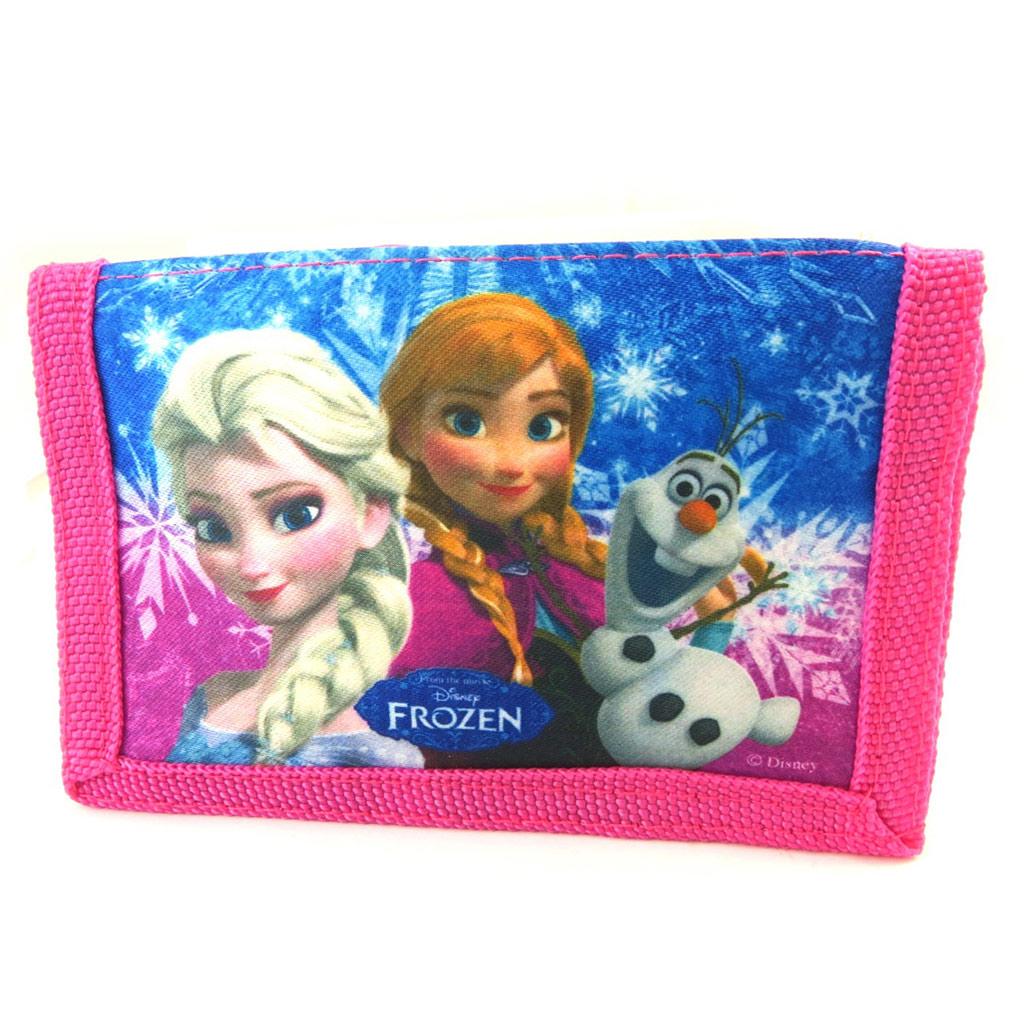 Portefeuille \' Frozen - Reine des Neiges\' rose bleu - [N4925]